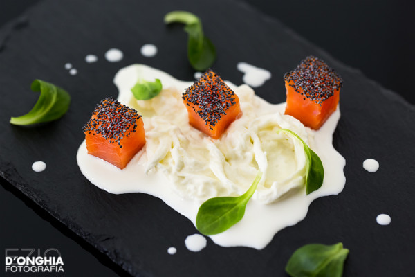 antipasto salmone